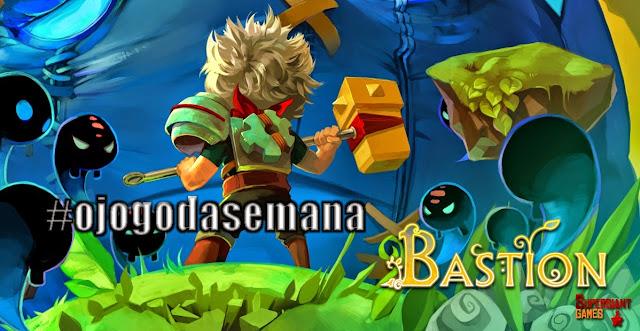 Ganhador do game Bastion