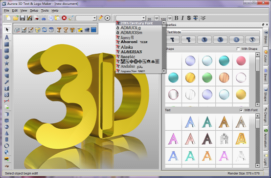 برنامج 3d headings للكتابة على الصور