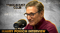 Maury Povich on the Breakfast Club 2016