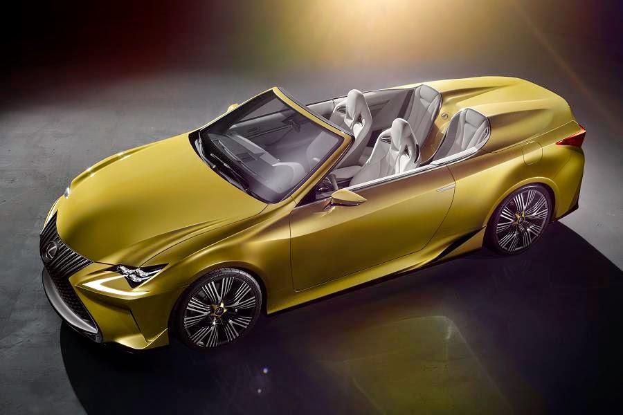 Lexus LF-C2 Concept (2014) Front Side