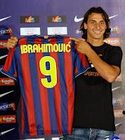 Zlatan Ibrahimović Barcelona