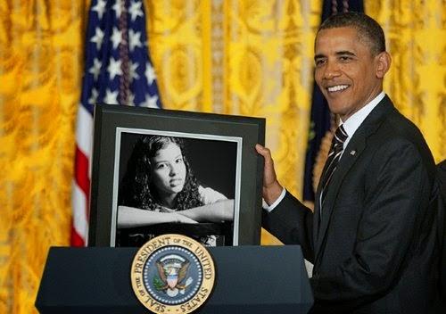 Montagem de fotos com Barack Obama