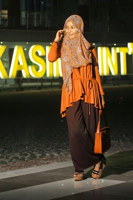 Style hijab jilbab untuk remaja cantik sekali