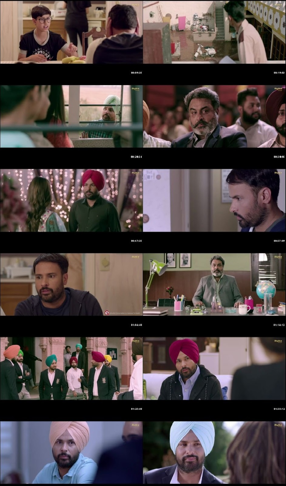 Screen Shot Of Ashke 2018 300MB HDRip 480P Full Punjabi Movie Watch Online Free Download