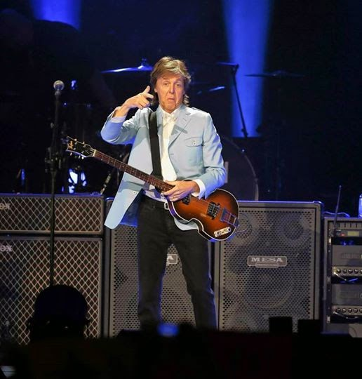 The Beatles Polska: Paul McCartney zagrał w Chicago