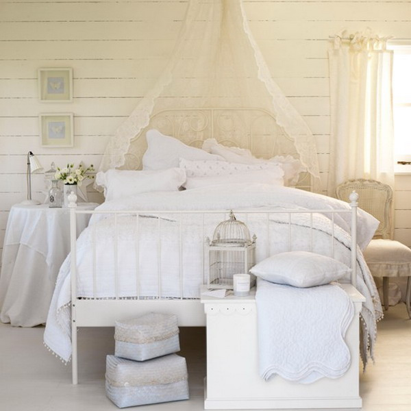 White Bedroom Furniture Idea