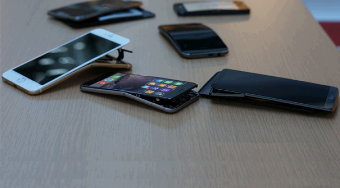 iPhone 6 Plus Melengkung