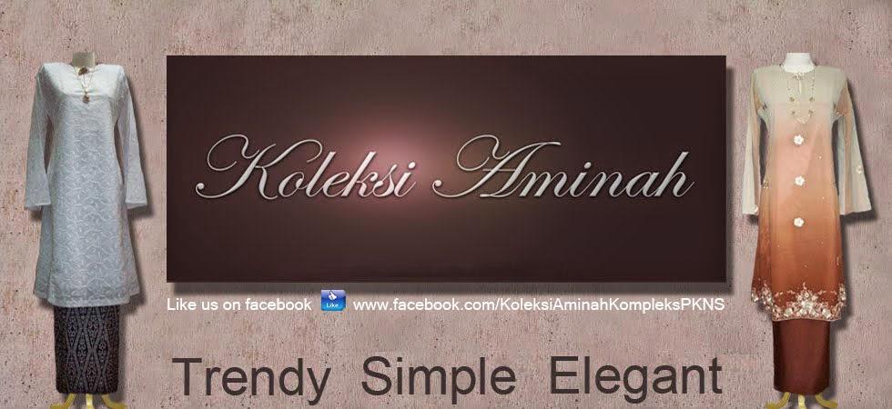 Koleksi Aminah - Baju Kurung Online