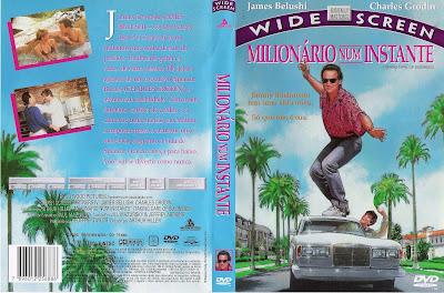 Milionário Num Instante DVD Capa