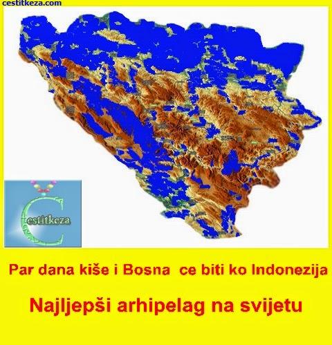 poplavljena Bosna