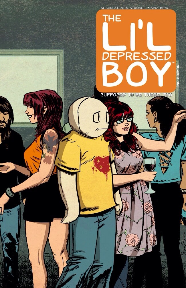 THE LI'L DEPRESSED BOY SUPPOSED TO BE THERE TOO #1 Cover