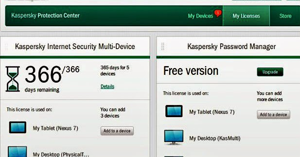 kaspersky license