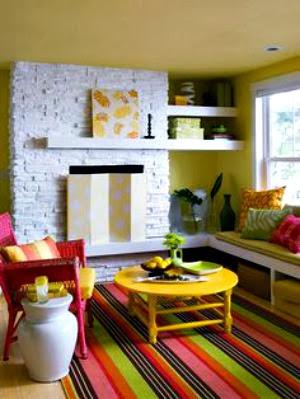 Tapetes, decoração