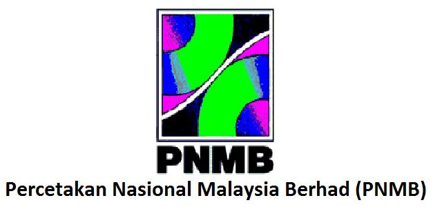 Jawatan Kerja Kosong Percetakan Nasional Malaysia Berhad (PNMB) logo www.ohjob.info januari 2015