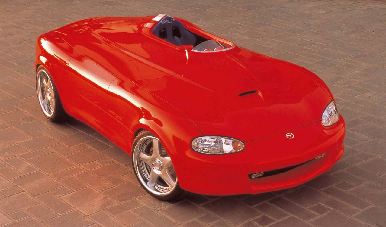 Daily Concept Cars: The 1999 Mazda Miata Mono-Posto
