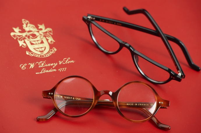 CW Dixey launches Chartwell glasses collection including frames worn by Sir Winston Churchill: Chartwell 01 and Chartwell 02