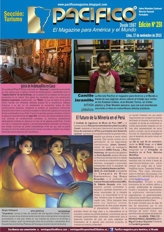 Revista Pacífico Nº 250 Turismo