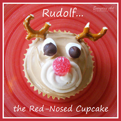 http://www.our-everyday-art.com/2012/12/rudolf-cupcakes.html