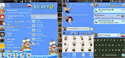 Mi-BBM Doraemon versi 2.8.0.21 by Annas Aqsha Putra