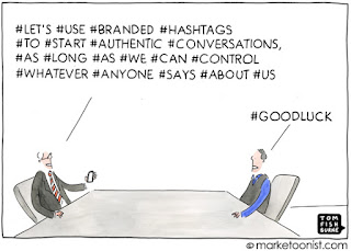 social media brand conversations hashtags