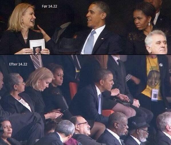 Michelle Obama est jalouse