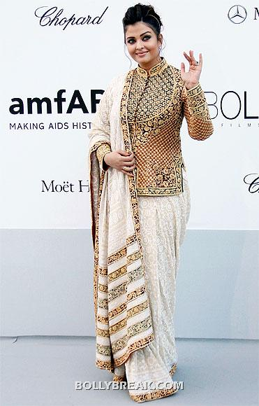Aishwarya Rai Bachchan in Saree - Different Kind Of Sarees - Bollywood styles