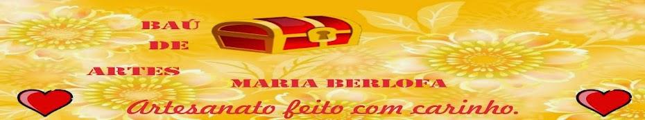 Baú de Artes Maria Berlofa