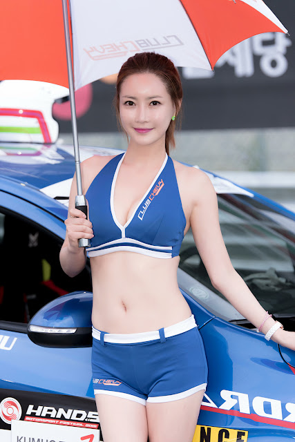 4 Min Soo Ah - CJ Super Race R5 - very cute asian girl-girlcute4u.blogspot.com