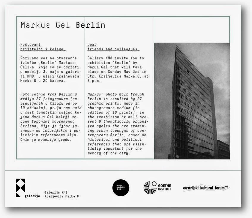 Otvaranje izložbe Markusa Gela