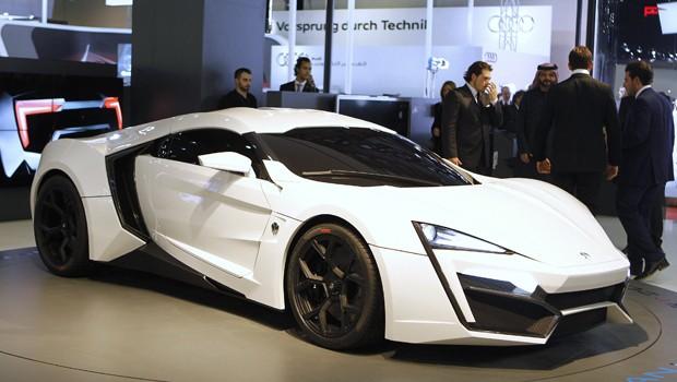 Siêu xe LykanHypersport - Siêu xe đắt nhất thế giới