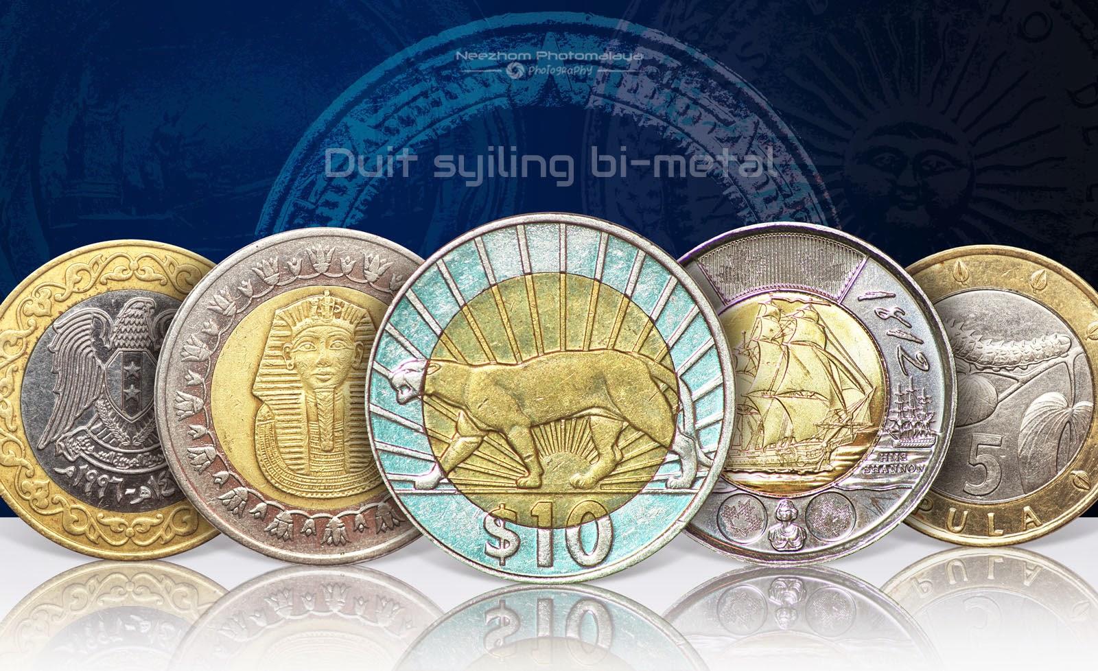 Bi metal coins