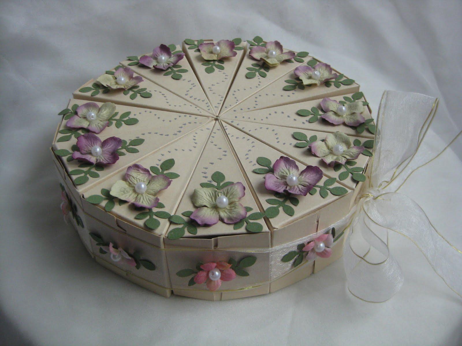 Упаковка для свадебного торта своими руками 53