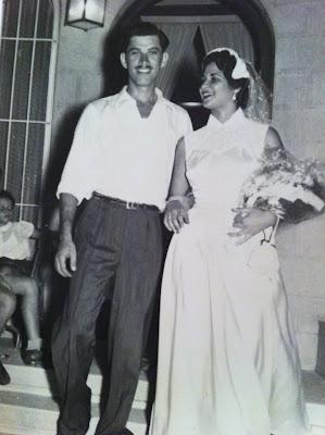Happy 59th anniversary to my grandparents
