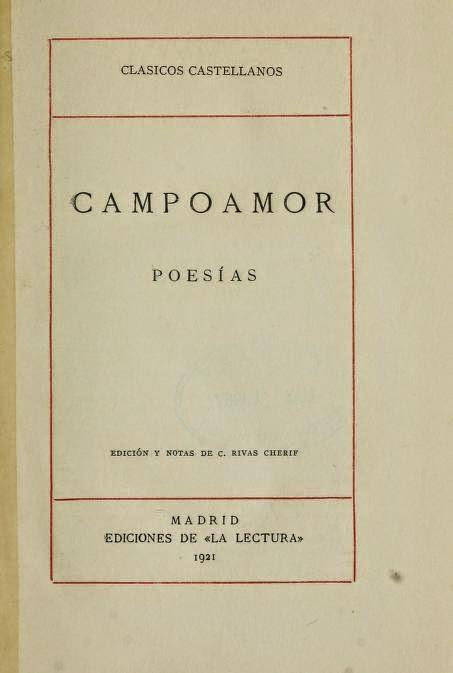 Poesías Campoamor