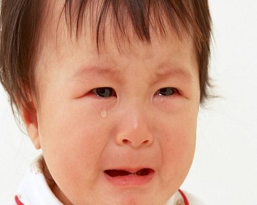 Photo bébé en pleure
