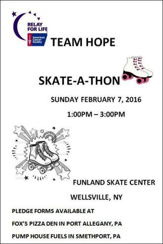 2-7 Team Hope Skate-A-Thon