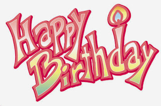 Happy Birthday with Letters, part 4