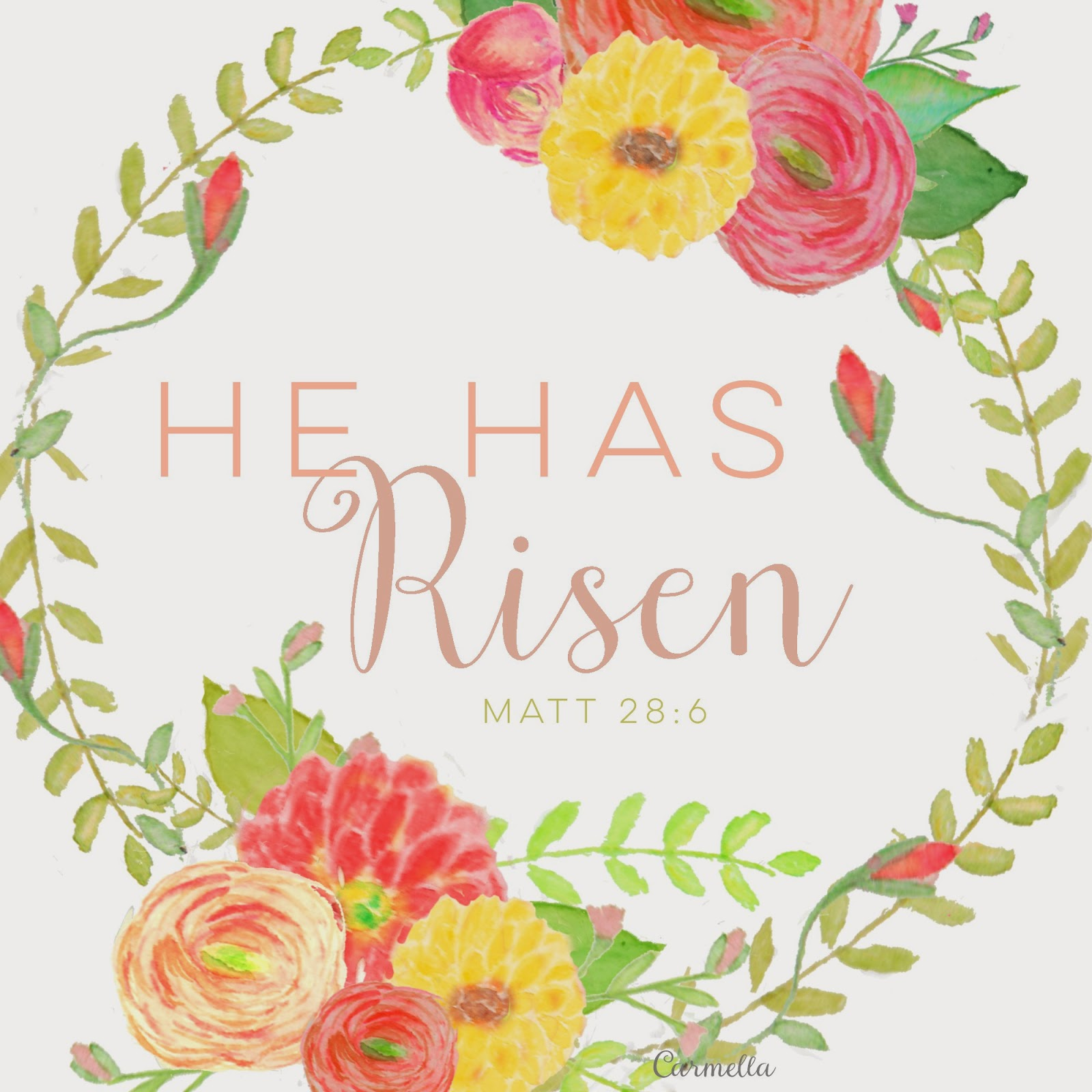 Modest image intended for he is risen printable