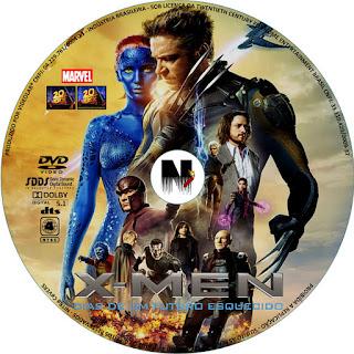 Label DVD X Men Dias De Um Futuro Esquecido