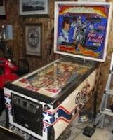 image Evil Kneival Pinball Machine