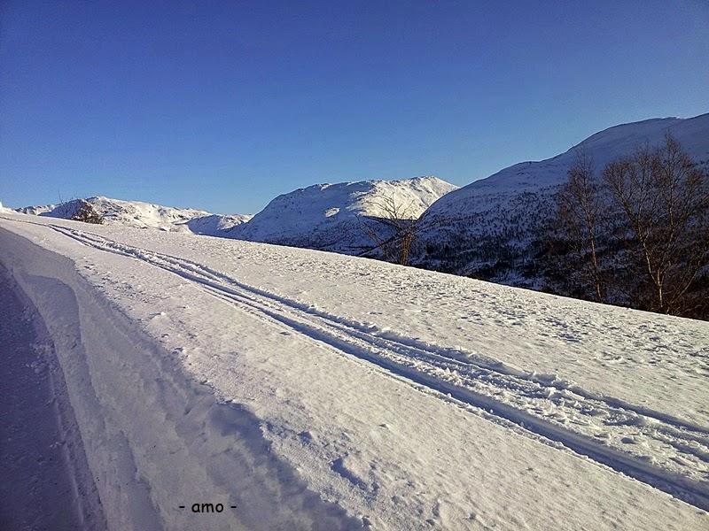 januar,..og februar... vinter og snø ...