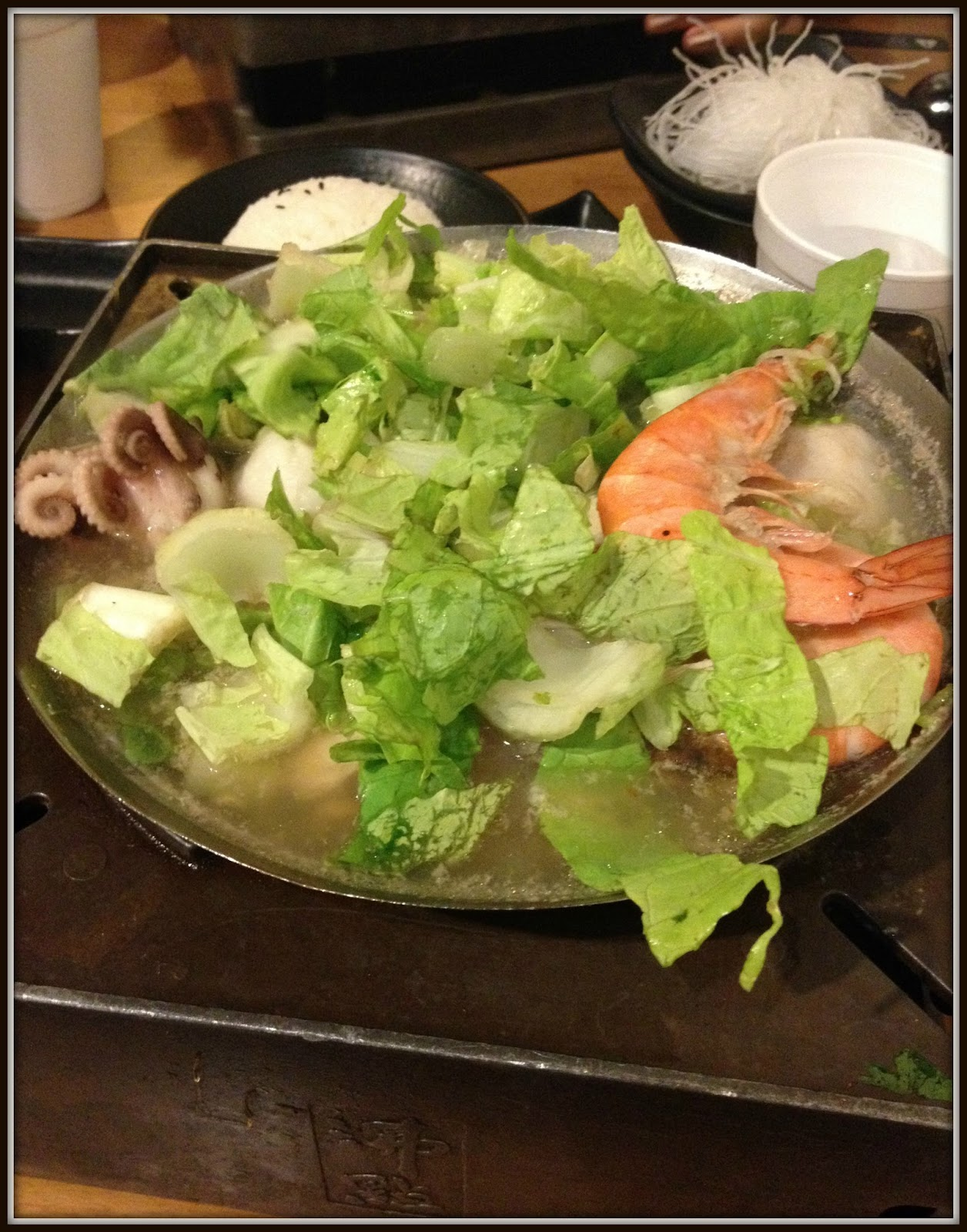 Seafood and Tofu Hotpot