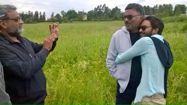 Dhanush on shooting location of Shamitabh with R. Balki