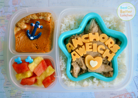 Farewell Sailor Boy EasyLunchboxes Bento