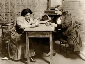 Emmy Destinn, Enrico Caruso and Pasquale Amato in Puccini's La Fanciulla del West