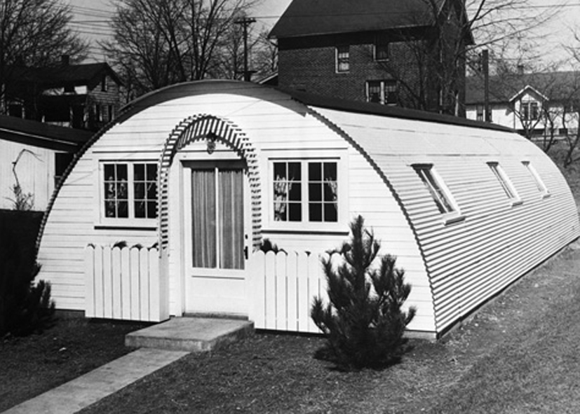 Display Model Of A Quonset House Erected By The Great Lakes Steel Corporation In Mansfiled OH 1946 Source Vanderbilt 87