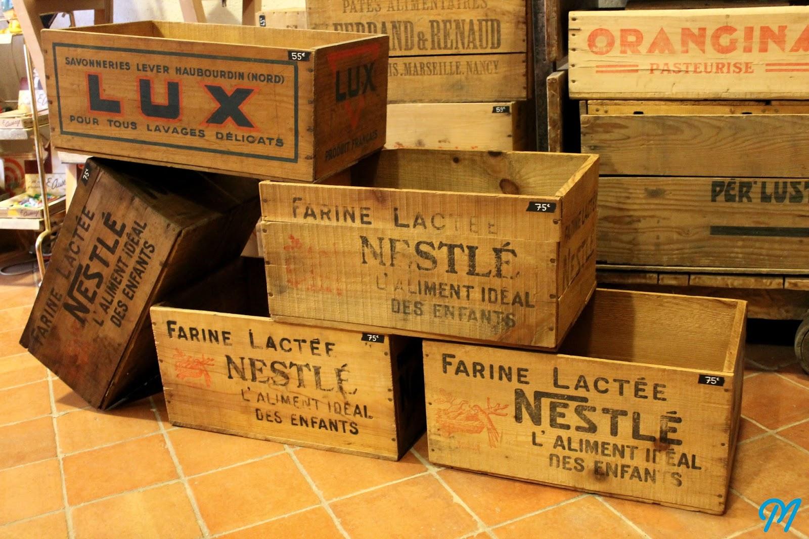 Caisse En Bois Ancienne : finir en beaut?: De tr?s belles caisses avec un joli lot de caisses