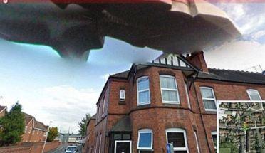 Ufo di atas West Bromwich