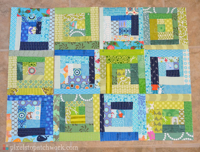 From Pixels To Patchwork October 2012