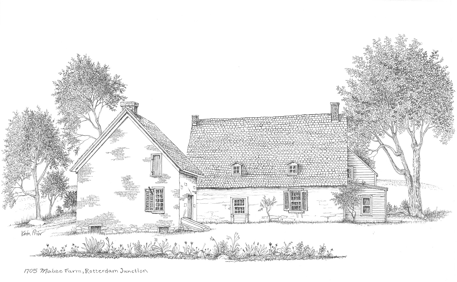 Farm drawing images galleries with a for Farm house drawings